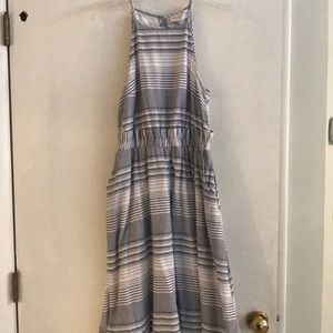 ANewDay Striped Midi Dress